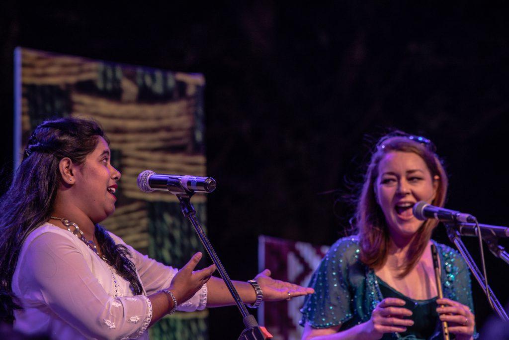 Divya and Maria at Sur Jahan.